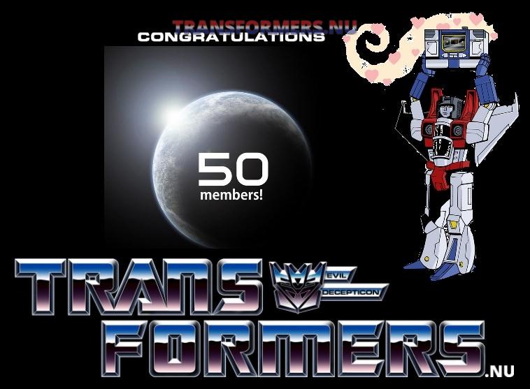 50 Leden gefeliciteerd Transformers.nu image