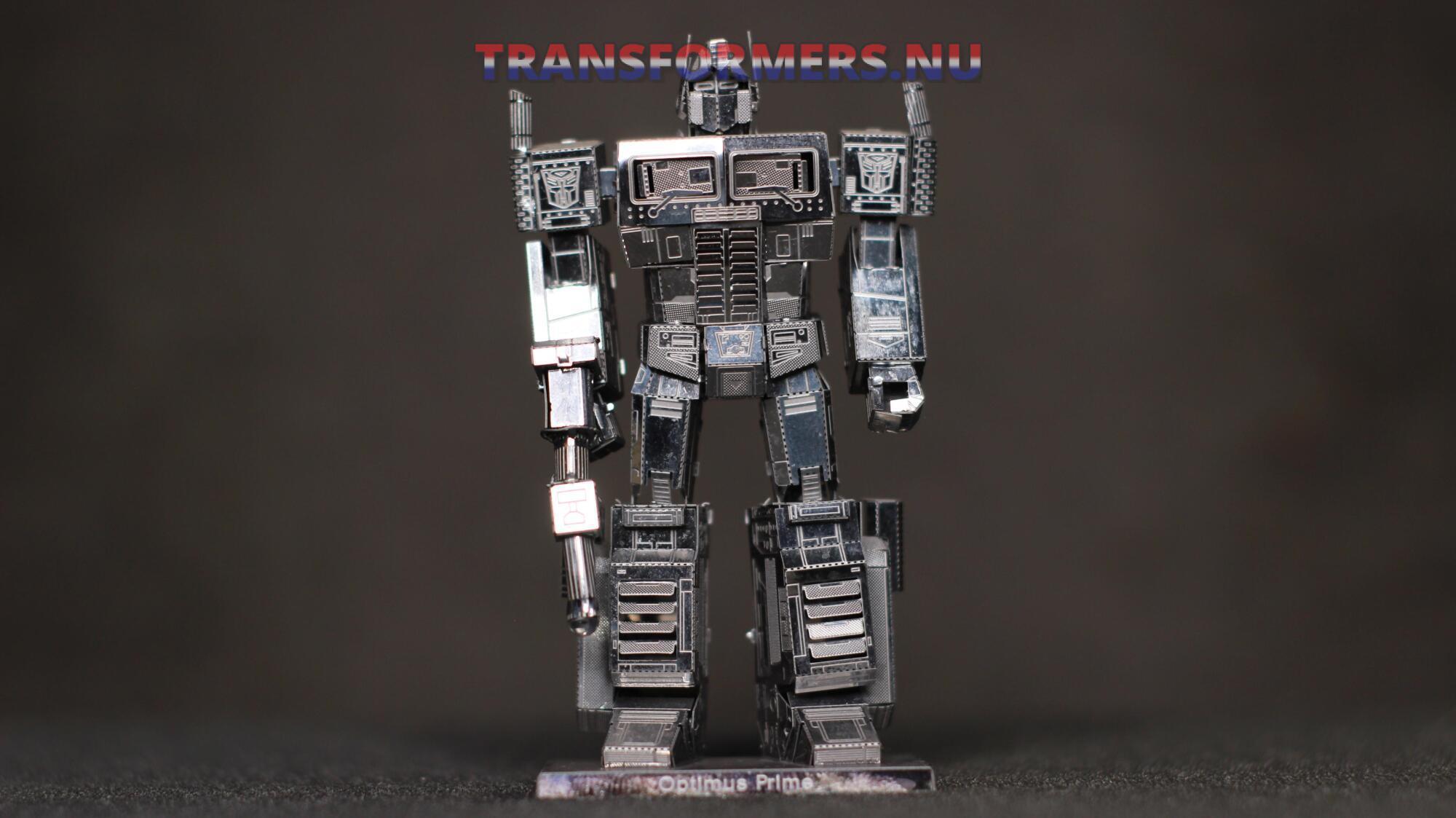 Metal Optimus prime